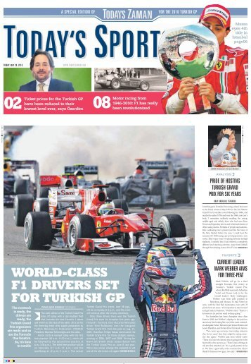 world-class f1 drivers set for turkish gp - Today's Zaman