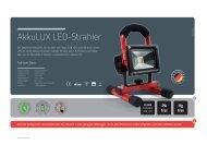 AkkuLUX LED-Strahler - Heinz Sanders GmbH