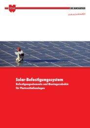 Solar-Befestigungssystem