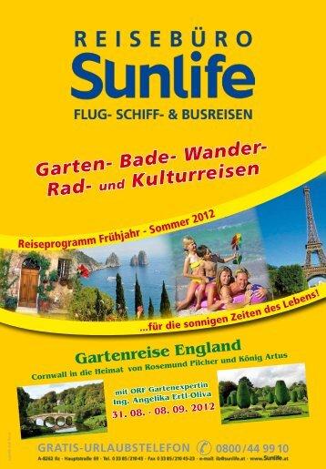 Bade- Wander- Rad - Sunlife Reisebüro & Busreisen