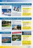 Bade- Wander- Rad - Sunlife Reisebüro & Busreisen - Page 6