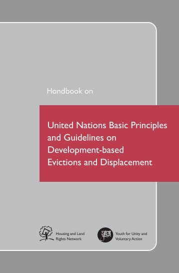 Handbook on United Nations Basic Principles and ... - hic-sarp.org