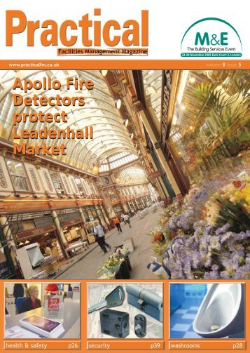 Apollo Fire Detectors protect Leadenhall  Market Apollo Fire ...