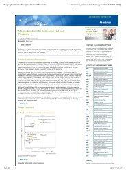 Magic Quadrant for Enterprise Network Firewalls - Exclusive Networks