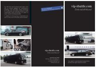 Imageflyer vip-shuttle.com