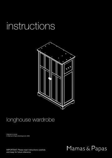 Longhouse Wardrobe - Mamas & Papas