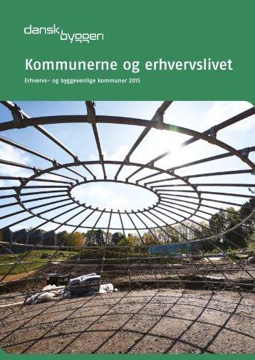 2208119.Kommunal erhvervsvenlighed - 2015
