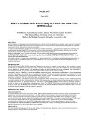 MAKS: A validated SAS® Macro Library for Clinical Data - PhUSE Wiki