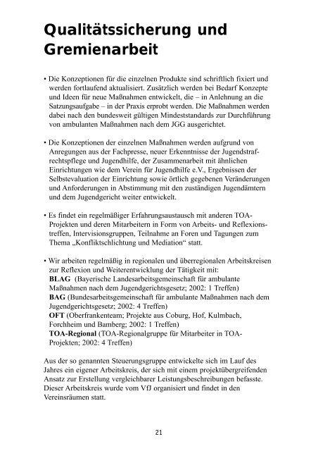 Jahresbericht 2002 - Verein für Jugendhilfe eV