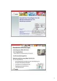 07 Swissmedic Weiss Markus, Rechtliche Grundlagen ...