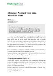 Membuat animasi teks pada Ms Word-Format PDF - IlmuKomputer ...