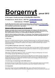 Borgernyt januar 2012 - Sundby Mors