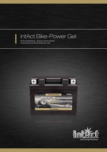 intAct Bike-Power Gel - Accu-Profi
