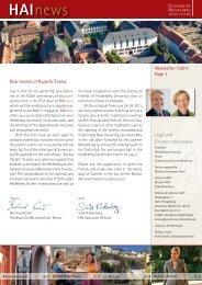 HAInews - Heidelberg Alumni International