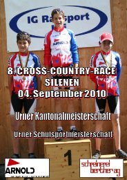 Selderrennen Programm 2010 - VMC Silenen