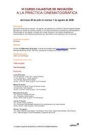 Descripción detallada del curso (pdf - 16 kb) - Cajastur