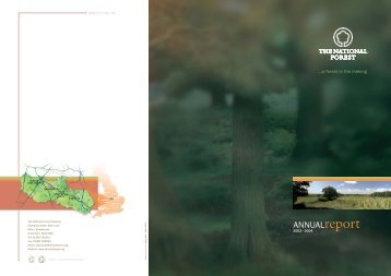 Annual Report 2003-2004 - The National Forest Company