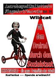319 Wildcat - Mit dem Dreirad durch den Sozialstaat - Existenzgeld ...