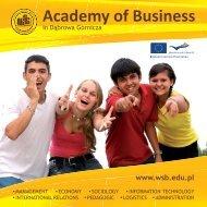 Academy of Business - Wyższa Szkoła Biznesu w Dąbrowie Górniczej
