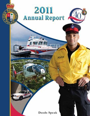 2011 Annual Report - York Regional Police