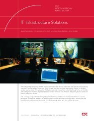 IT Infrastructure Solutions - CSC
