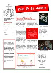 Newsletter no 8 - St Hilda's Anglican Church North Perth