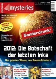 Mysteries Magazin Ausgabe 1/2012 - menalit