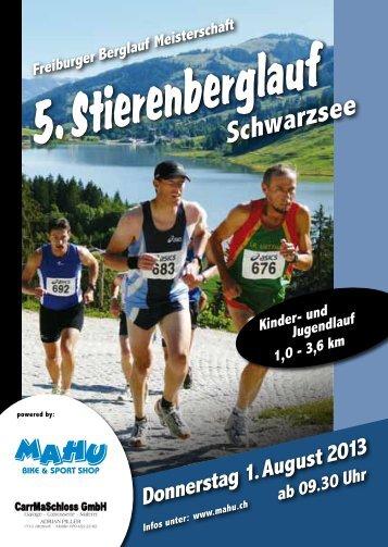 Schwarzsee - TSV Rechthalten