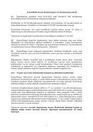 kontrollkaigu kokkuvote kernu hooldekodu - Õiguskantsler