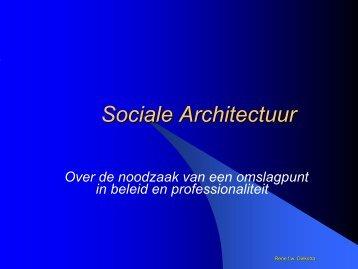 Sociale Architectuur - Provincie Zeeland