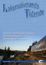 Lokomotivmands Tidende Nr. 8-2011. 104.Ã¥rgang - Norsk ...