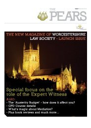 Special focus on the role of the Expert Witness - insitelaw
