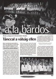 farsangi szám - Bárdos László Gimnázium