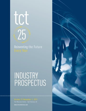 Download the TCT 2013 Industry Prospectus