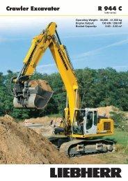 R944C Crawler Excavator - Coastline Equipment