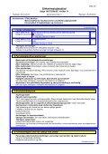 Sikkerhedsdatablad - Stihl - Page 2