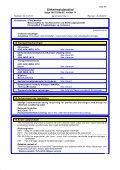 Sikkerhedsdatablad - Stihl - Page 6