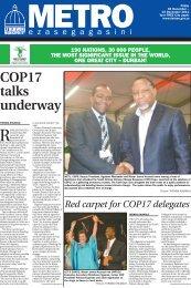 COP17 talks underway - Durban