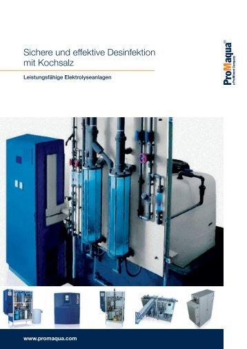 Broschüre - Elektrolyse - ProMinent