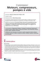 Fiche Commission Moteurs-Compresseurs - Juin 2013 - Cetim