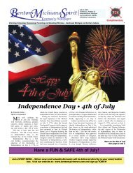 Independence Day • 4th of July - Benton Spirit Community Newspaper