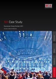 MA Case Study - MA Lighting