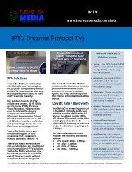 IPTV (Internet Protocol TV) - Twelve Six Media