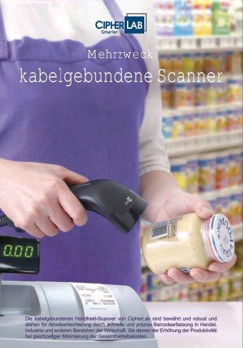 kabelgebundene Scanner - CipherLab
