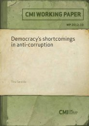 Democracy's shortcomings in anti-corruption - CMI