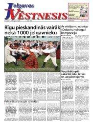 2008. gada 3.jūlijs. Nr.27(59) - Jelgavas Vēstnesis