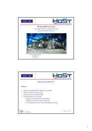HR Hout WKK – Host Imtech – dhr. H. Klein Teeselink