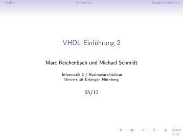 Einführung in VHDL 2