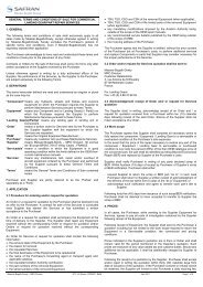 general terms and conditions of sale for commercial