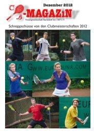 Dezember 2012 Schnappschüsse von den Clubmeisterschaften 2012